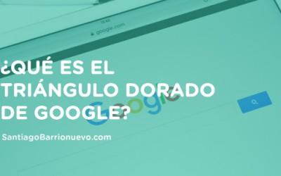 ¿Qué es el triángulo dorado de Google?