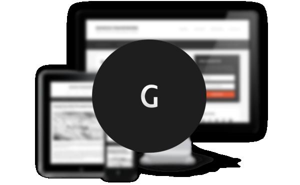 Genesis Framework logo blur background
