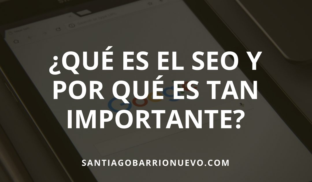 que significa search engine optimization