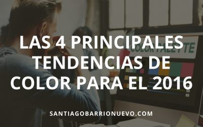 Las 4 principales tendencias de color para el 2016