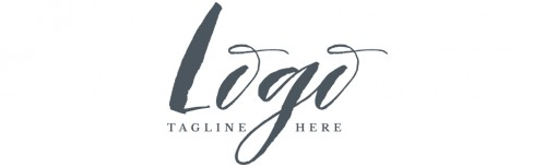 script and serif logo example